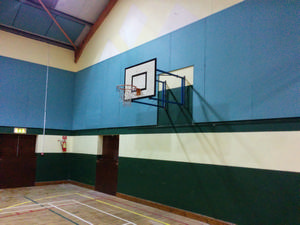 Softsound Acoustic Liner System in Community Hall