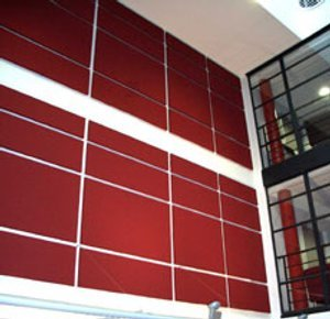 Red Softsound Acoustic Wall Panels